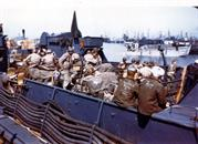 422140386  LCT Channel Fever transporting personnel and vehicles of the 1ST Inf.Div